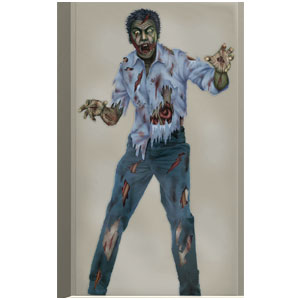 Zombie Photo Backdrop- 72in