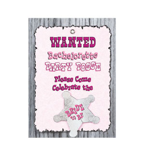 Party Posse Invitations- 8ct