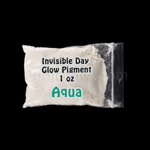 Glominex™ Invisible Day Glow Pigment 1 oz - Aqua