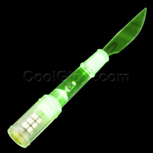 LED Knife - Green