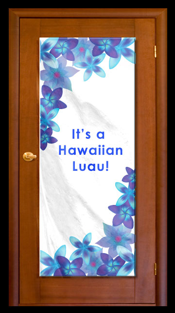 Cool Mahalo - Custom Door Banner