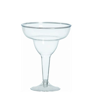 Clear Margarita Glasses 11 oz - 20ct