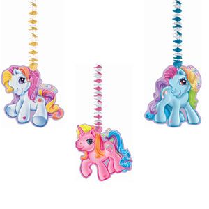 My Little Pony Dangling Cutouts- 3ct