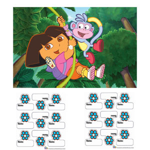 Dora Party Game- 3pc