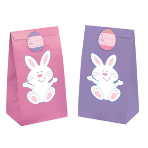 Easter Paper Bags with Seals