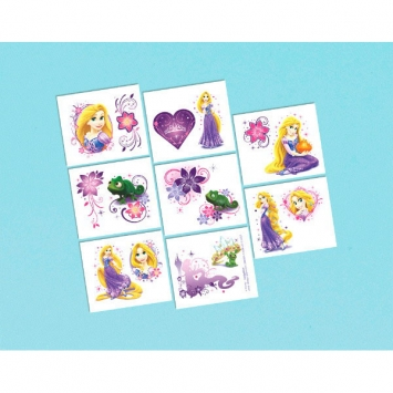Disney Rapunzel Tattoo Favors