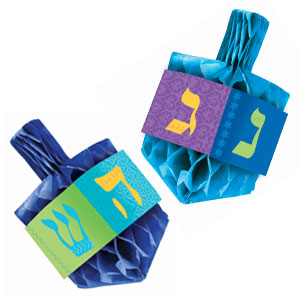 Hanukkah Honeycomb Centerpiece Set