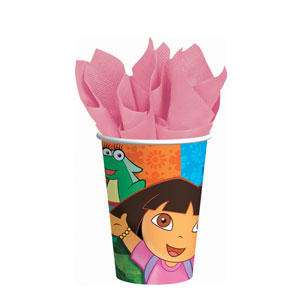 Dora 9 oz. Cups- 8ct