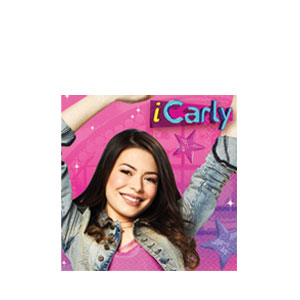 iCarly Beverage Napkins- 16ct