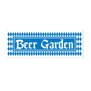 Beer Garden Sign Banner - 5ft