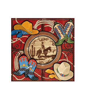 Giddy Up Luncheon Napkins