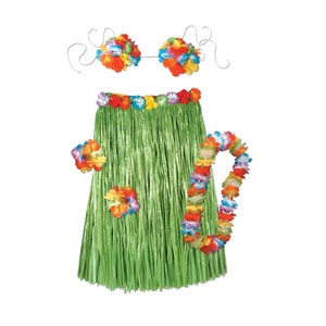 Hula Outfit Sets-Adult