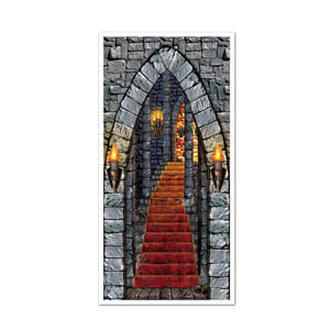 Castle Entrance Door Cover - 5ft