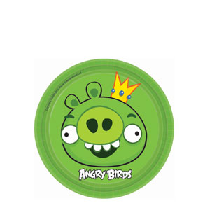 Angry Birds 7 Inch Plates- 8ct