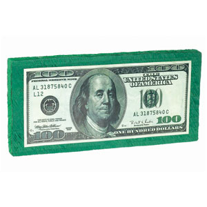Hundred Dollar Bill Pinata