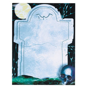 Ghoulish Imprintable Invitations- 25ct