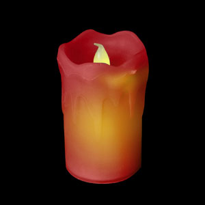 LED Wax Candles - Red