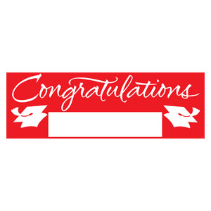 Grad Fill In Banner - Red