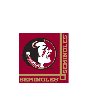 Florida State Beverage Napkins