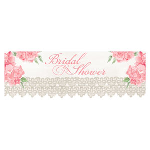 Antique Bridal Banner