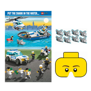 Lego Party Game- 5pc