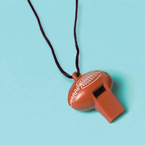 Football Whistle- 12ct