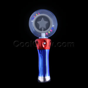 LED Magic Star Spinner Wand - Multicolor