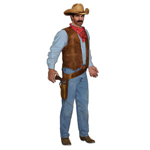 Jointed Cowboy Cutout- 3ft
