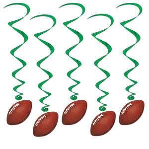 Football Whirls- 5ct
