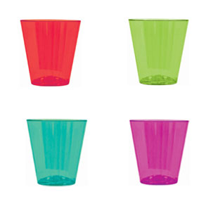 Plastic Shot Glasses- 40ct