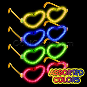 Glow Heart Eyeglasses - Assorted