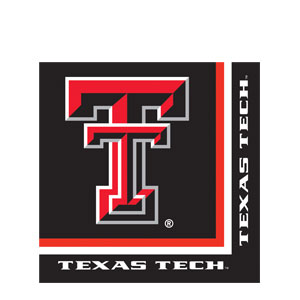 Texas Tech Luncheon Napkins