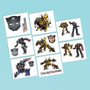 Transformers 3 Tattoos- 16ct