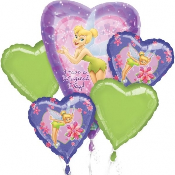 Disney Tinkerbell Balloon Bouquet