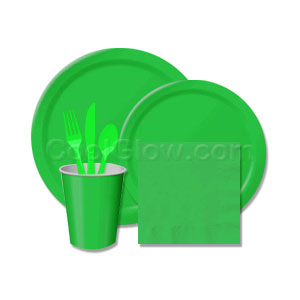 Emerald Green Tableware Pack