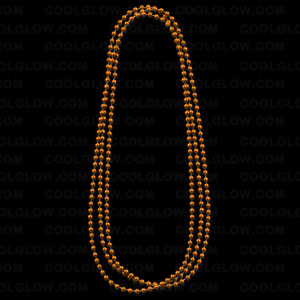 Beads- Metallic Orange