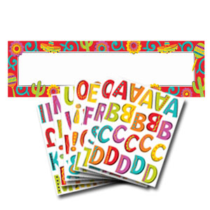 Giant Fiesta Personalized Sign Banner- 65in