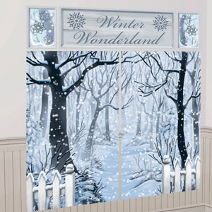 Winter Wonderland Scene Setter Kit - 5ct