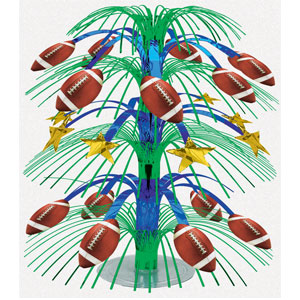 Football Cascade Centerpiece- 18in