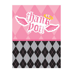 Little Angel Thank You Cards - 8ct