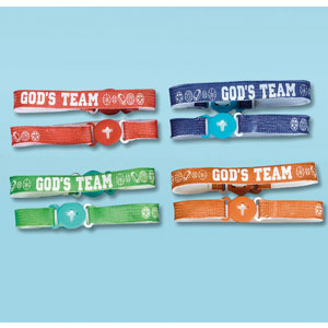 God's Team Friendship Bracelet- 12ct