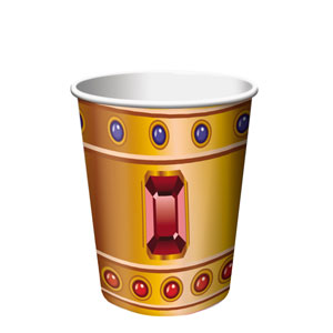 Buried Treasure 9 oz. Cups- 8ct