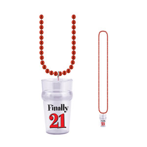 Finally 21 Shot Glass Beads