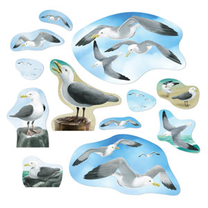 Seagull Cutouts- 12ct