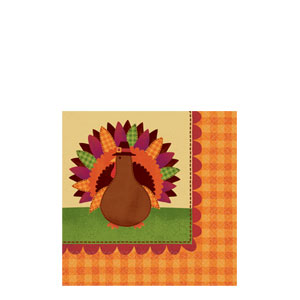 Give Thanks Beverage Napkins- 36ct
