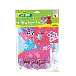 Abby Cadabby Favor Pack- 48pc