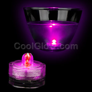 LED Submersible Waterproof Deco Light - Pink