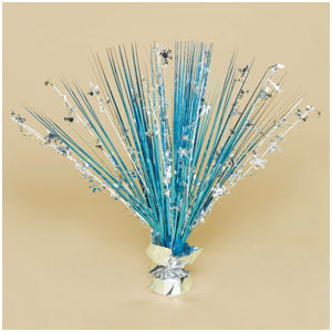 Snowflakes Spray Centerpiece- 18 Inch
