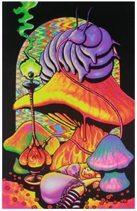 Opticz Alice Dreaming in Wonderland Blacklight Poster