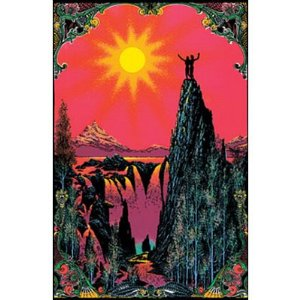 Garden of Eden Blacklight Poster